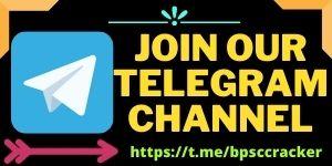 Join our telegram Bpsc cracker.com
